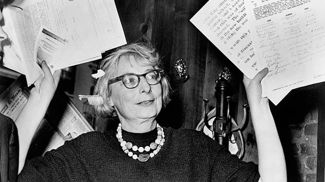 Jane Jacobs. Fuente: (http://centerforthelivingcity.org/)
